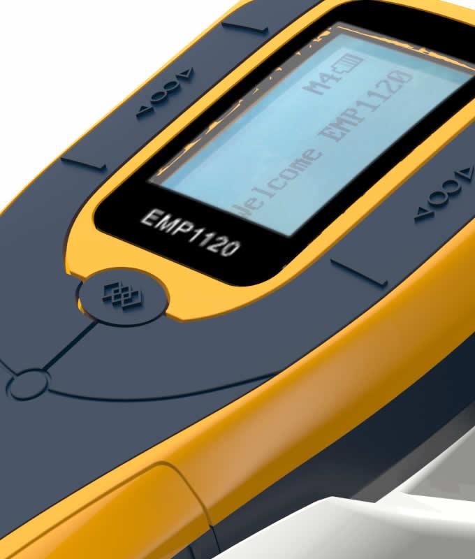 EMP-1120 handheld passport counter display