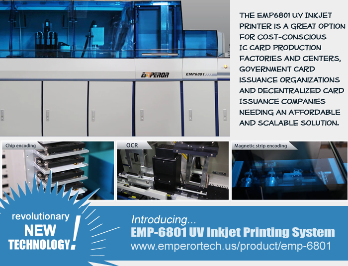 EMP-6801 Card Printer and Personalization System